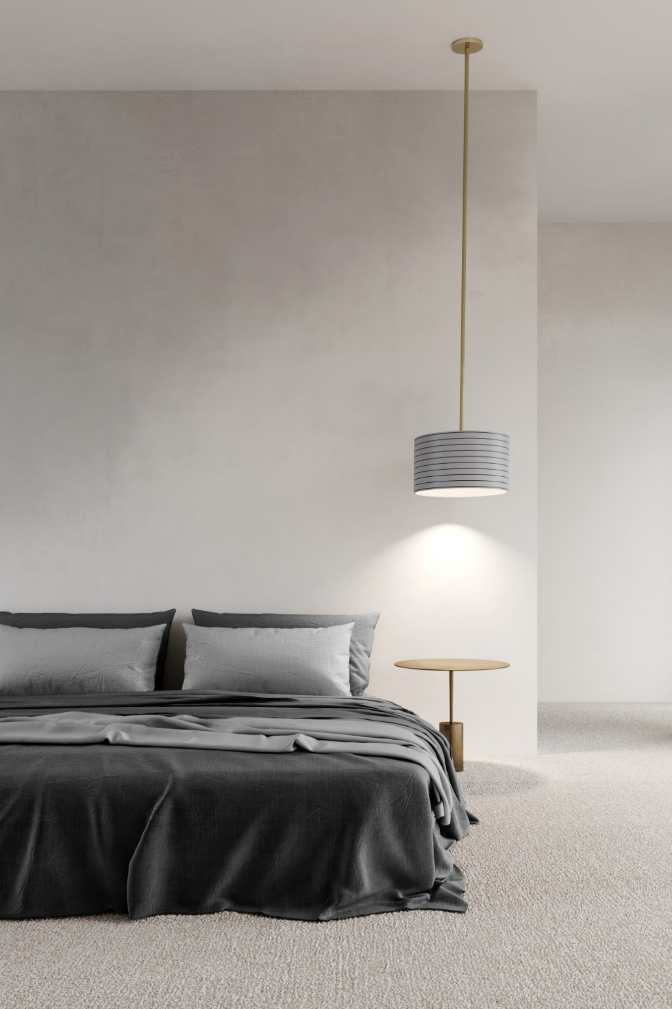 Bedroom with Articolo lighting