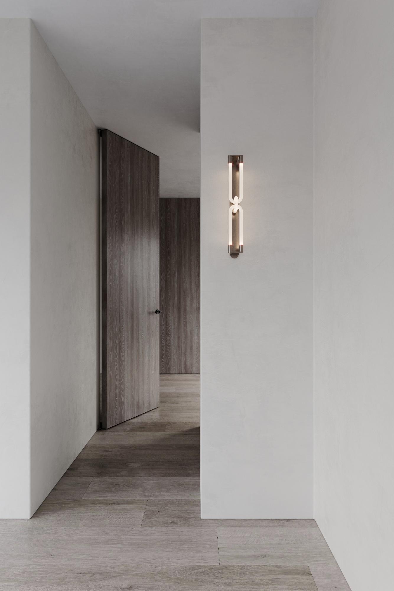 Corridor with Articolo lighting