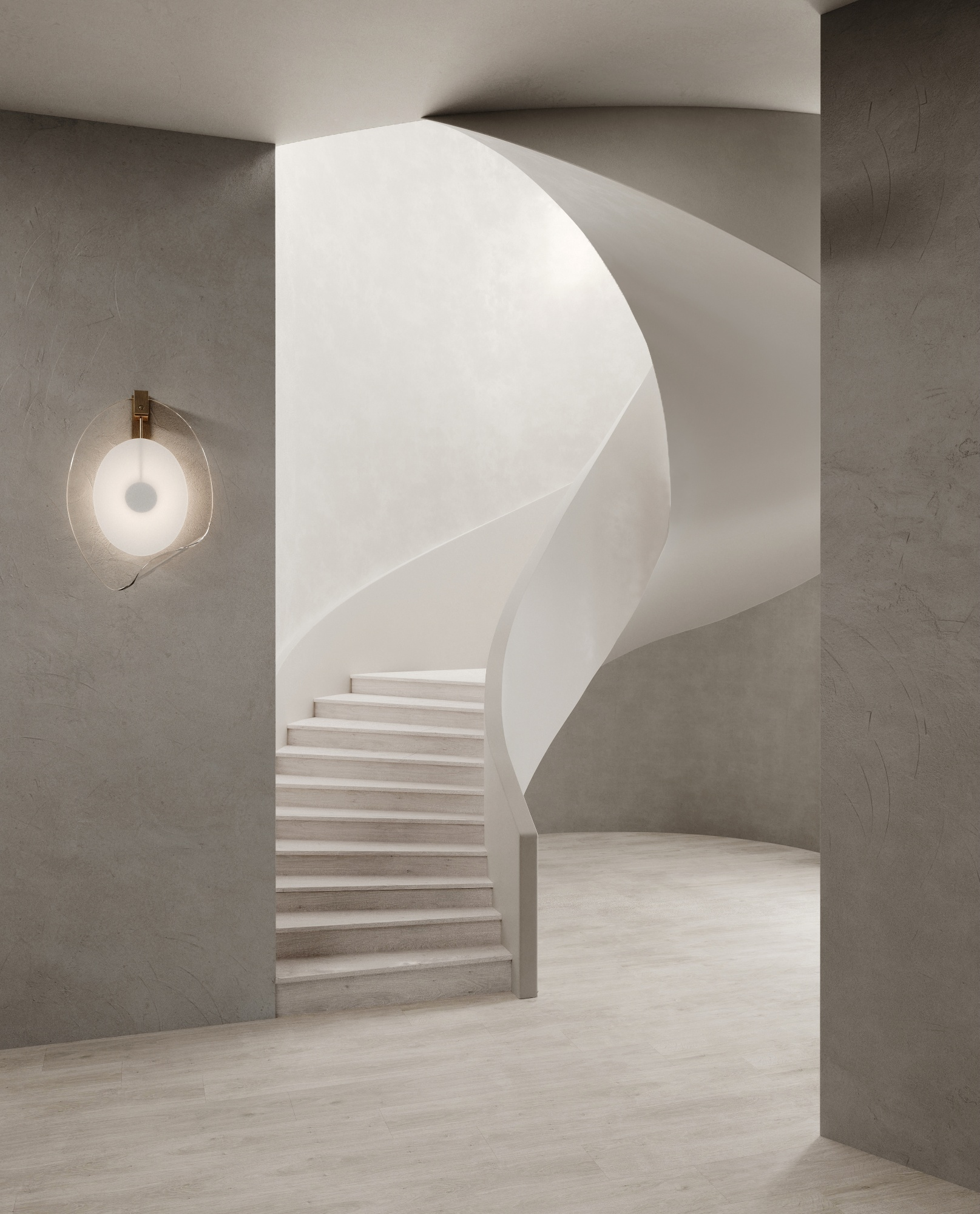 Staircase with Articolo lighting