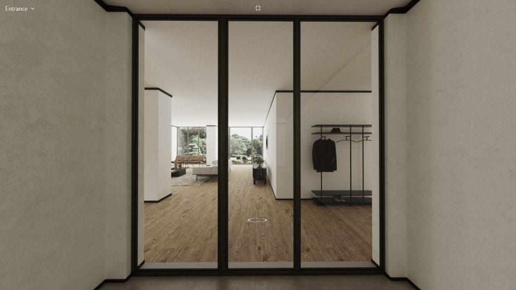 Living Divani virtual apartment entrance