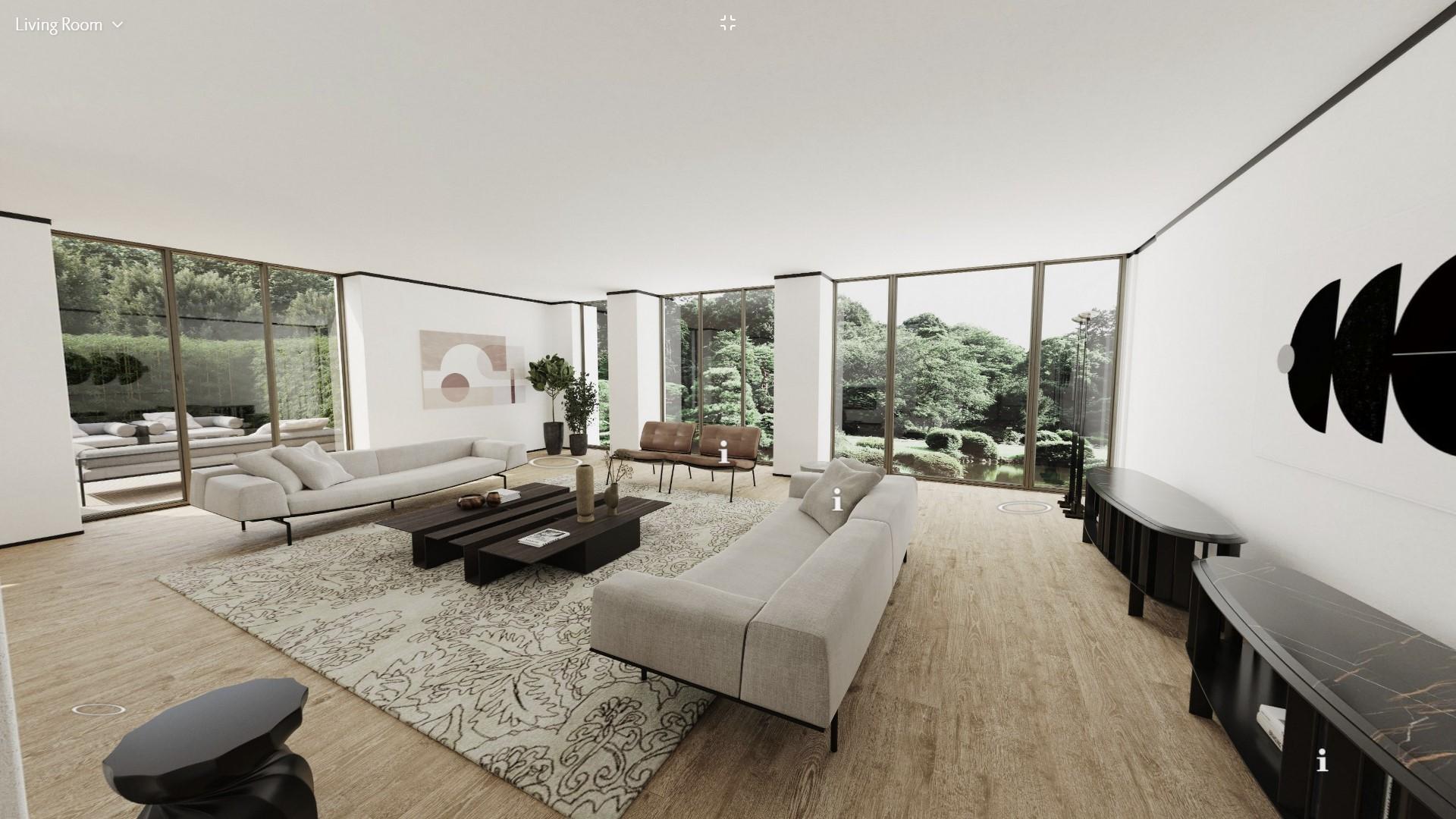 Living Divani virtual apartment living room