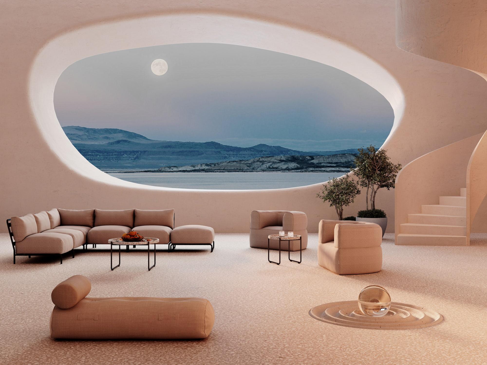 Trimm unwordly beautiful interior