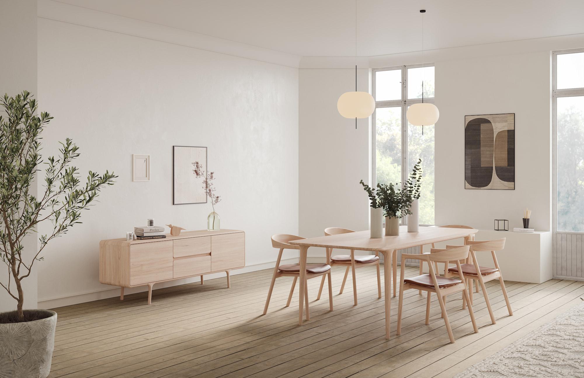 Scandinavian dining room